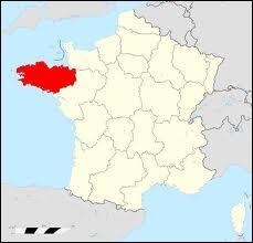 Cette région comporte 4 départements 22, 29, 35, 56.