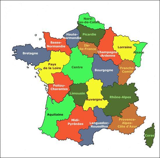 Quizz les r gions de france quiz regions france regions francaises - 1 are combien de m2 ...