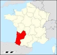 Cette région comporte 5 départements 24, 33, 40, 47, 64.