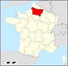 Cette région comporte 3 départements 02, 60, 80.