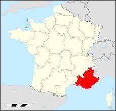 Cette région comporte 6 départements 04, 05, 06, 13, 83, 84.