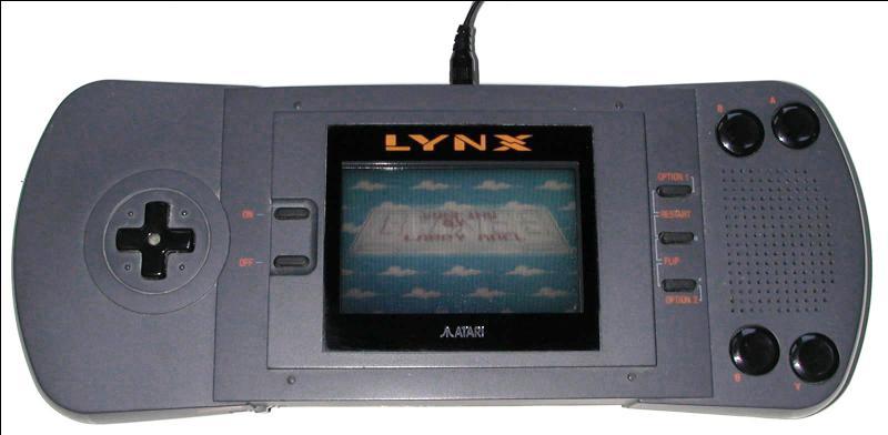 Une autre console d'Atari, elle a aussi le nom d'un fauve...