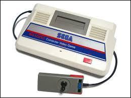 La première console de Sega n'est pas sortie du Japon, mais quel est son nom ?