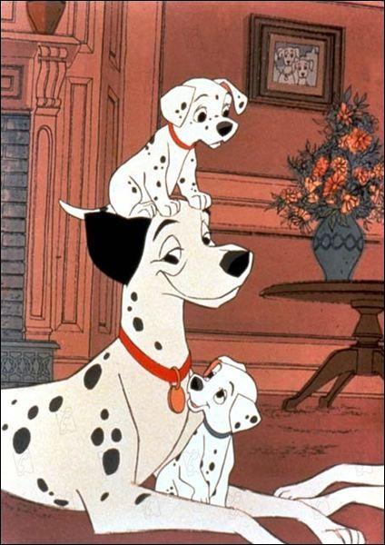 """Que vois-tu sur cette image tirée du dessin animé """"Les 101 dalmatiens"""" ?"""