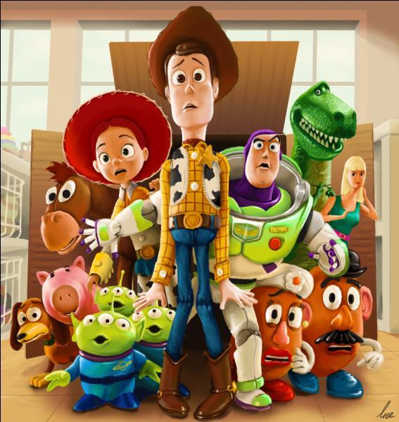 """Que vois-tu sur cette image tirée du dessin animé """"Toy Story"""" ?"""