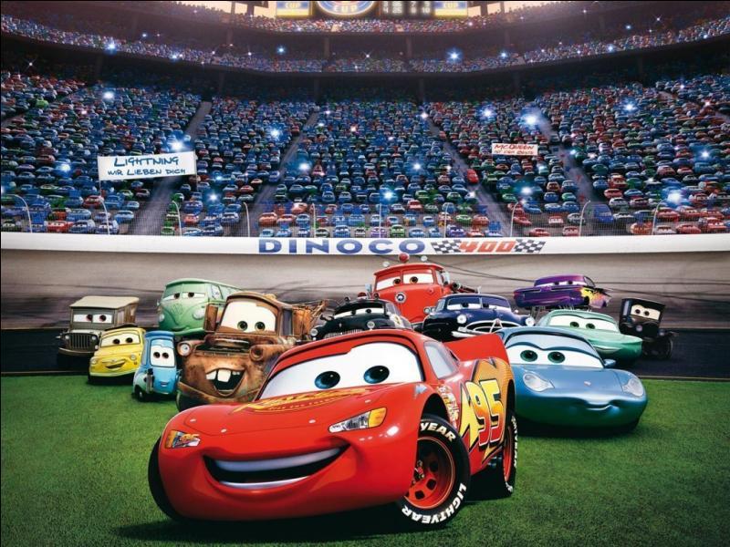 """Cette image est tirée du dessin animé """"Cars"""", qu'y vois-tu ?"""
