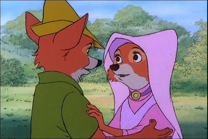 """Que vois-tu sur cette image tirée du dessin animé """"Robin des Bois"""" ?"""