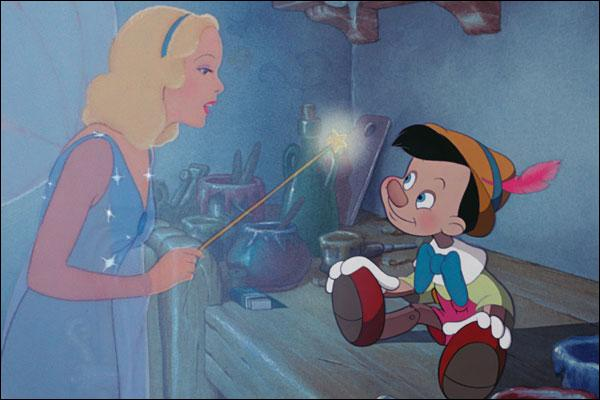 """Que vois-tu sur cette image tirée du dessin animé """"Pinocchio"""" ?"""
