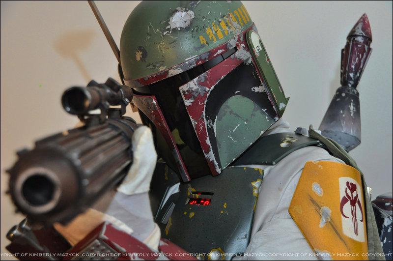 Dans les films Star Wars, nous rencontrons deux chasseurs de primes en armure mandalorienne. Lequel est-ce ici ?