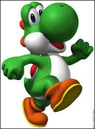 Ce personnage est un dinosaure et un ami de Mario. Qui est-ce ?