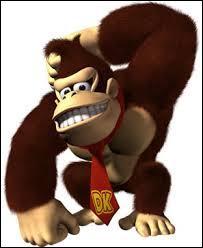 Ce personnage est un gorille vêtu d'une cravate. Qui est-ce ?