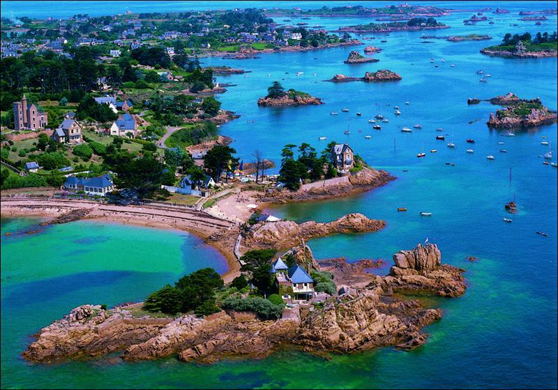 Dans quelle région, peut-on aller sur l'île de Bréhat ?