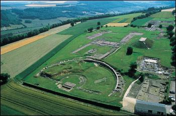 Dans quelle région, peut-on voir le site archéologique d'Alésia ?