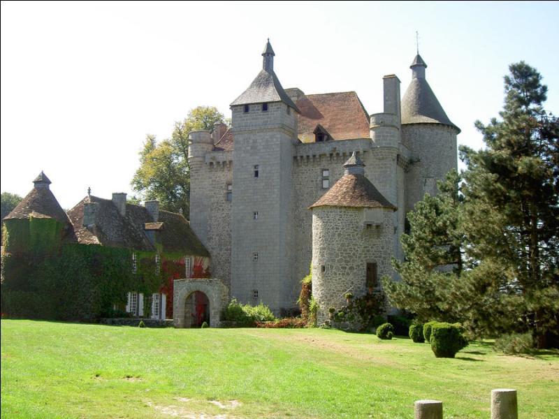 Dans quelle région, peut-on visiter le château de Villemonteix ?