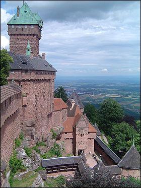 Dans quelle région, peut-on visiter le château du Haut-Koenigsbourg ?