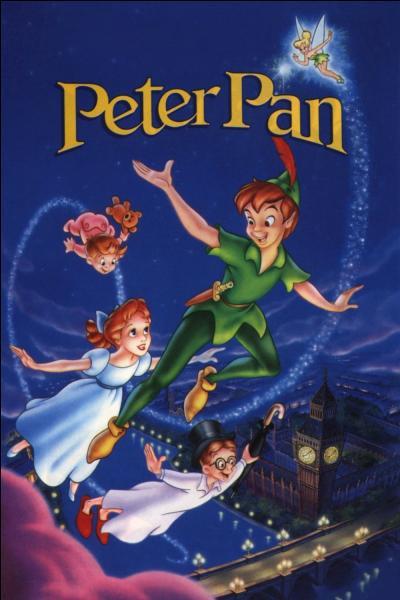 """Dans """"Peter Pan"""", quel est le nom de famille de Wendy et ses frères, Jean et Michel ?"""