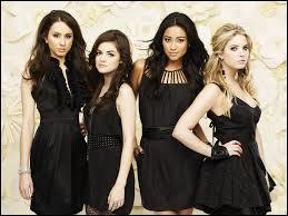 Avec qui Spencer, Aria, Emily et Hanna étaient-elles amies ?