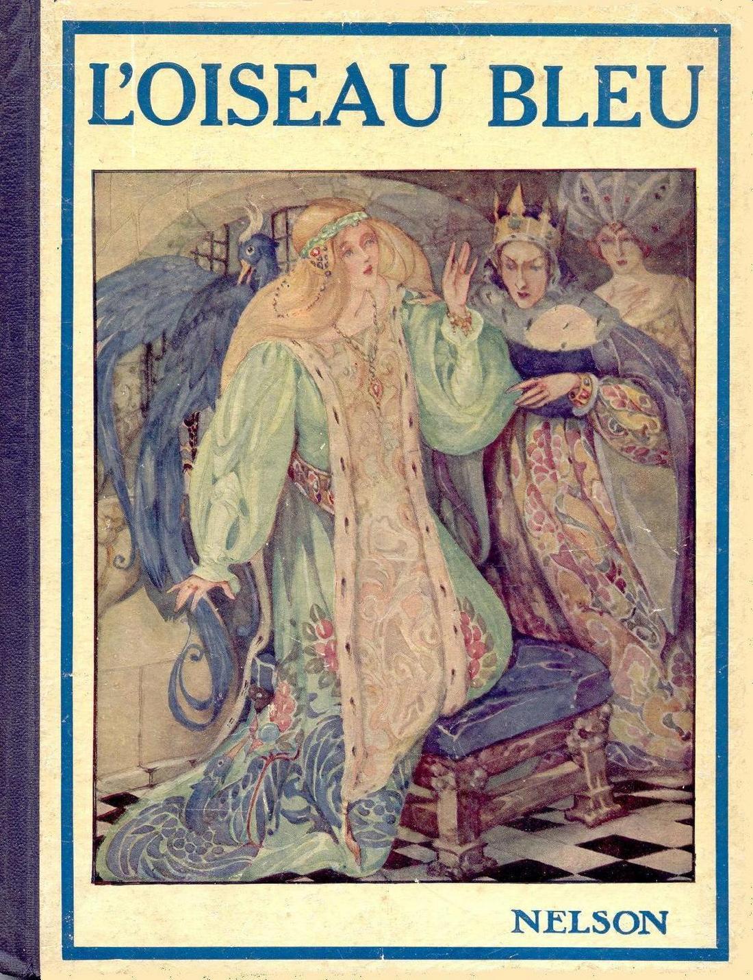 Le bleu dans les titres d'oeuvres littéraires