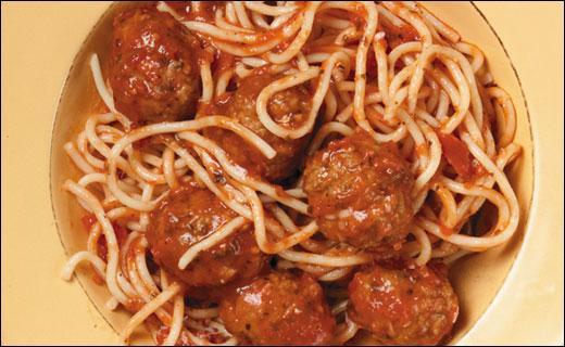 Ce plat de spaghettis et de boulettes est présent dans un dessin animé lequel ?