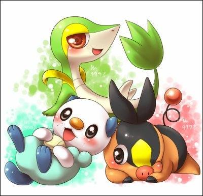 De quelle génération sont issus ces trois Pokémon ?