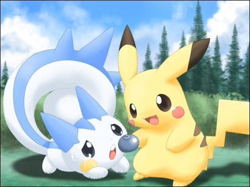 Avec qui Pikachu partage-t-il une baie ?