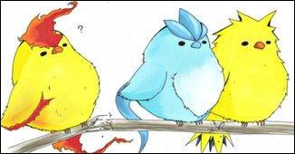 Qui sont ces trois petits oiseaux ?