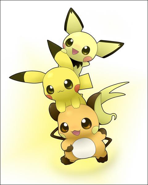 Quels sont les points communs de ces trois Pokémon ?