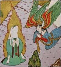 Vers quand Mohamed dit-il avoir reçu un révélation, une annonce de l'ange Gabriel ?