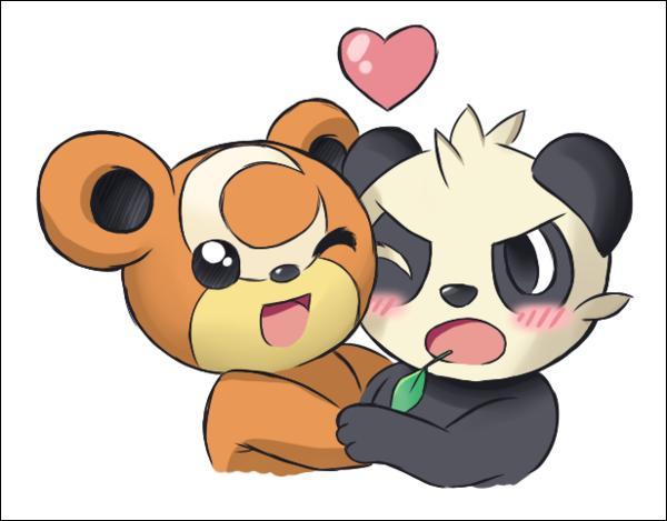 Lequel des deux est un Pokémon de type normal ?