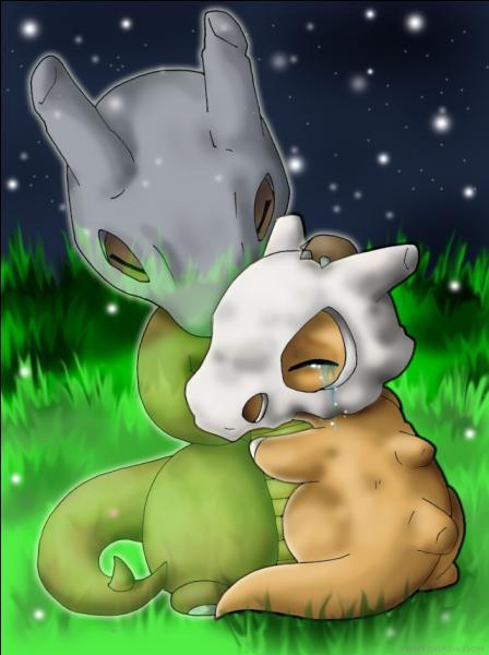 D'après l'histoire de  Pokémon : Les origines , qui est le fantôme sur cette photo ?
