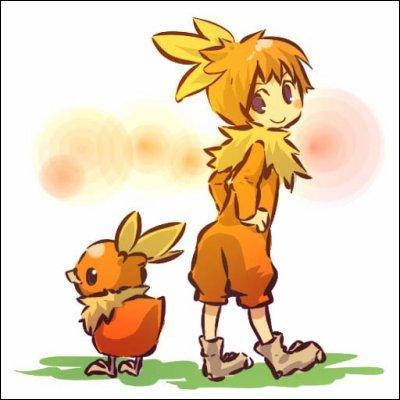 Quel Pokémon est imité par le personnage de la photo ?
