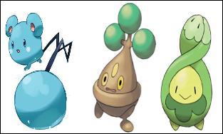Et pour finir qui sont ces trois Pokémon sur cette photo ?