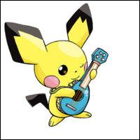 Qui est ce Pokémon très mignon jouant de la guitare ?