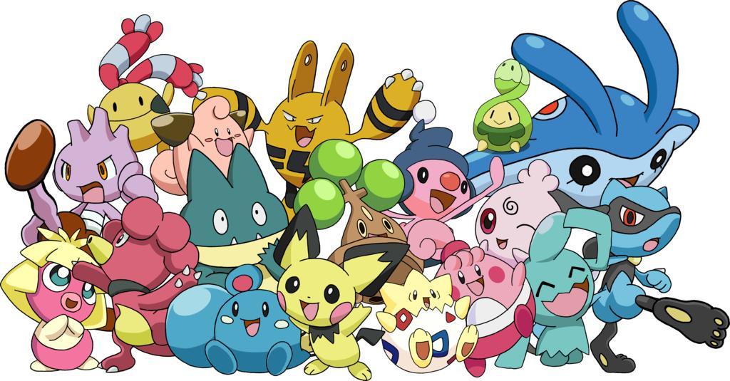 Les bébés Pokémon