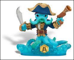 Qui est cette pieuvre pirate ?