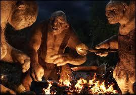 Les trolls des cavernes vaincus par Bilbo, les nains et Gandalf se prénomment Tom, William et...
