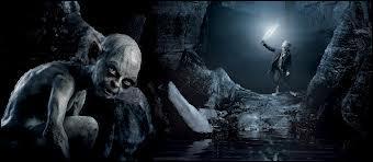 Où Bilbo rencontre-t-il Gollum ?