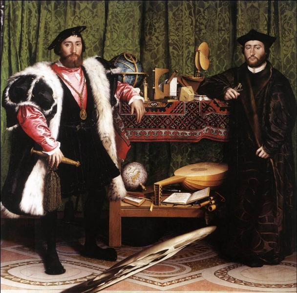 """Qui a peint """" Les Ambassadeurs """" ?"""
