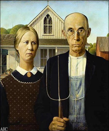 """Qui a peint """"American Gothic"""" ?"""