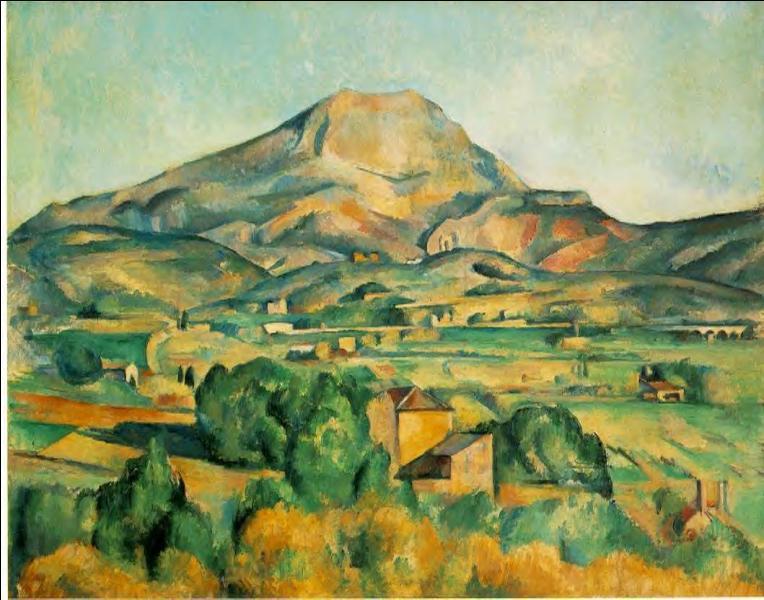 """Qui a peint """" La montagne Sainte-Victoire """"?"""