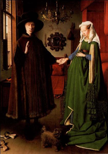 """Qui a peint """" Les époux Arnolfini """" ?"""