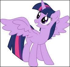 De quelle couleur est la queue de Twilight ?