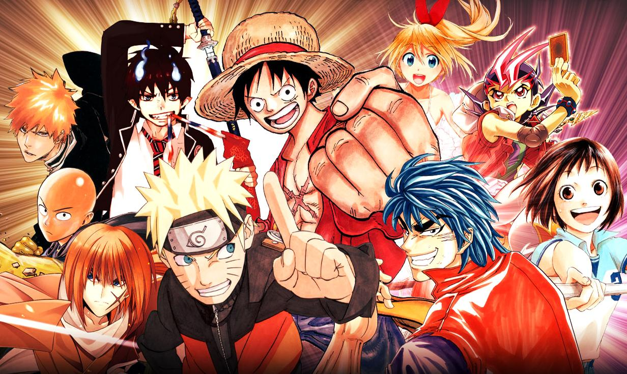 Personnages d'animes et de mangas (2)