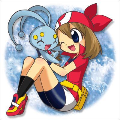 Comment se nomme le pokémon en compagnie de Flora ?