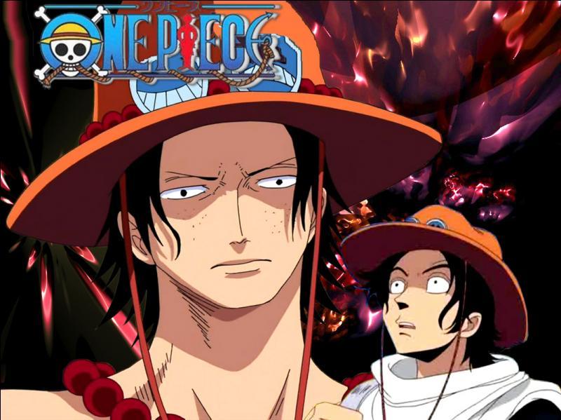 Au cours du manga, quel élément dans l'apparence d'Ace a-t-il changé ?