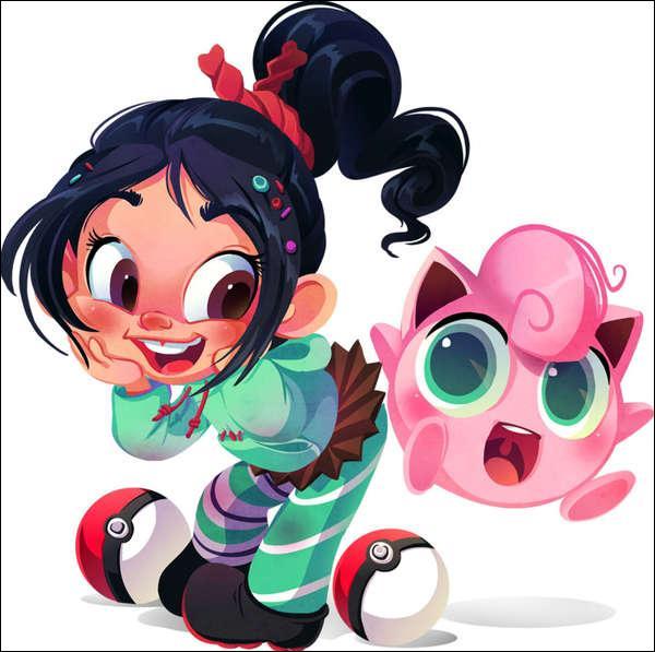 Dans quel dessin animé peut-on rencontrer la fillette aux côtés du Rondoudou ?