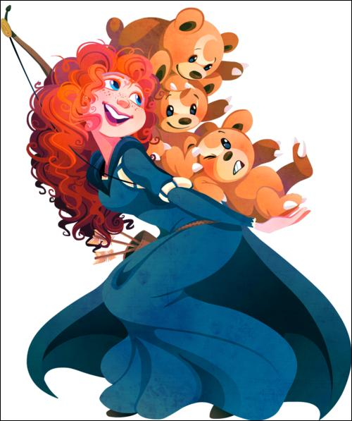 """Par qui peut-on remplacer les Teddiursa dans le Disney """"Rebelle"""" ?"""