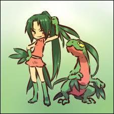 En quel pokémon est déguisée cette jeune fille ?