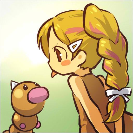 Quel est le pokémon imité par cette petite fille ?