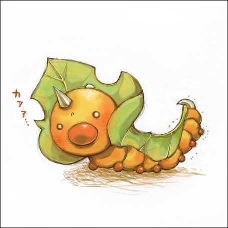 J'imite un autre pokémon de type insecte. Mais de qui s'agit-il ?
